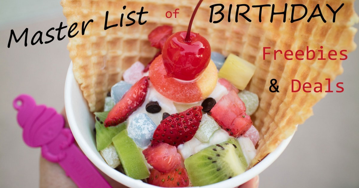 Many Los Angeles retailers, attractions and restaurants offer freebies on your birthday! We've rounded up the best birthday freebies for both kids and parents. NATIONAL LOS ANGELES ATLANTA BAY AREA BOSTON CHICAGO DALLAS DENVER HOUSTON NYC PHILADELPHIA PHOENIX SAN DIEGO SEATTLE SOUTH FLORIDA WASHINGTON DC CATEGORIES. SPECIALS SEARCH.