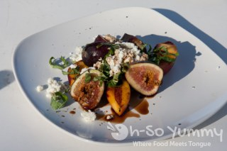 Hak Grill fig salad at Gourmet Experience 2011