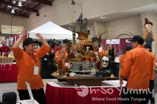 San Ysidro Adult School cake lift at Gourmet Experience 2011