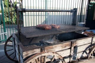 Tri Tip and More smoking pit at Gourmet Experience 2011