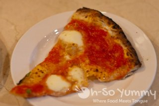 Taste of North Park 2011 - Caffe Calabria cheese pizza
