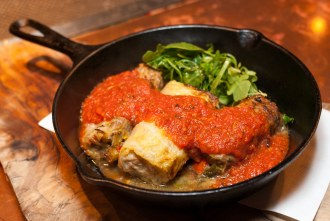 cabbage roll at Cafe 21 in San Diego CA
