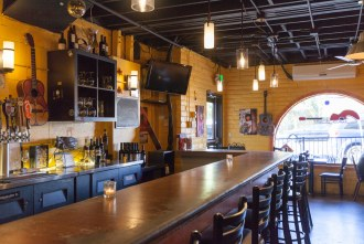 inside the bar of Cueva Bar in University Heights of San Diego