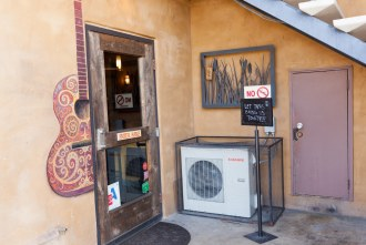 entrance to Cueva Bar in University Heights of San Diego