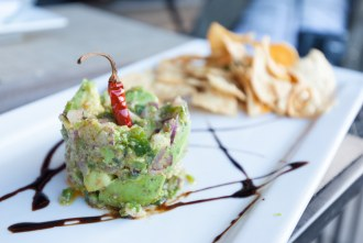 Guacamole Tower at Cueva Bar in University Heights of San Diego