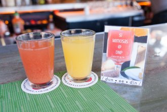 mimosas are only one dollar for brunch at Dunedin North Park