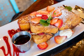 Stuffed French Toast at Farmer's Table Bay Park in San Diego