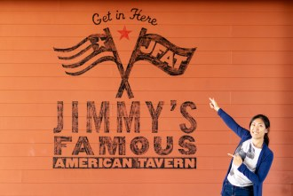 Jimmy's Famous American Tavern in San Diego