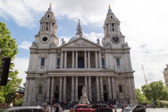 St. Paul's Cathedral in London UK