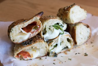Garlic knots at Mr Moto Pizza in Point Loma