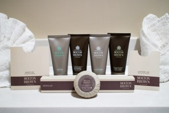molton brown bath products at Pechanga Resort and Casino in Temecula