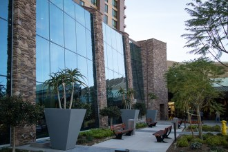 the hotel expansion is beautiful at Pechanga Resort and Casino in Temecula