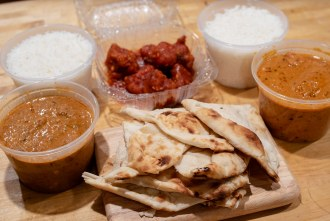 Takeout from Charminar Indian Restaurant in San Diego