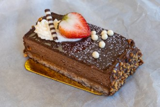 Chocolate Cake from French Oven bakery in San Diego