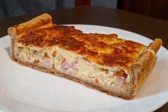 Quiche Lorraine from French Oven bakery in San Diego