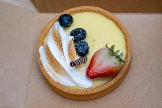 Lemon Tart from French Oven bakery in San Diego