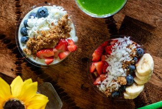 smoothie bowls and juice smoothies from Fresh Healthy Cafe in North City San Marcos