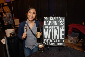 you can't buy happiness but you can buy wine and that's kind of the same thing