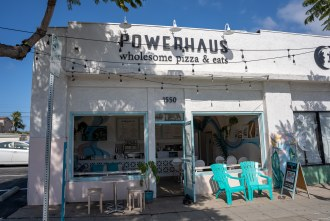 Powerhaus Wholesome Pizza and Eats in Pacific Becah San Diego