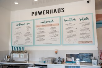 Menu at Powerhaus Wholesome Pizza and Eats in Pacific Becah San Diego