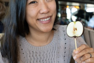 Candied Green Apple puts a smile on your face at Toast Gastrobrunch in Carlsbad