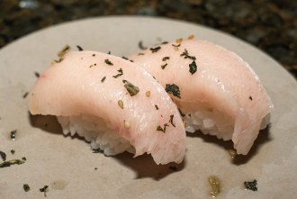 Hamachi Belly at Wrench and Rodent in Oceanside