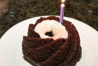 Vegan Bundt Cake at Wrench and Rodent in Oceanside