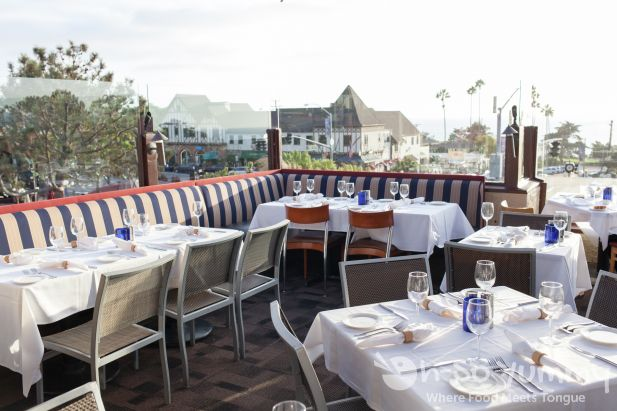 Patio Seating At Pacifica Del Mar Seafood Restaurant