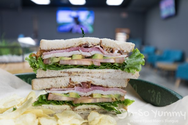 Cali Sandwich Stacked at 102 Hub