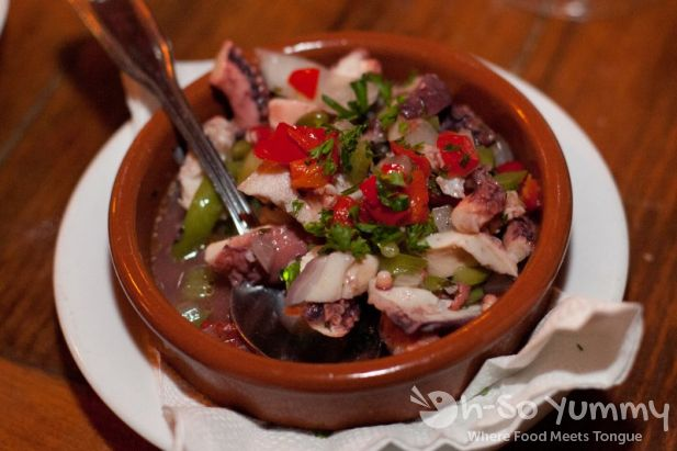Costa Brava Marinated Octopus