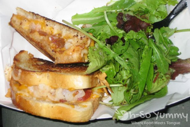 Devilicious Food Truck Cubano Grilled Sandwich