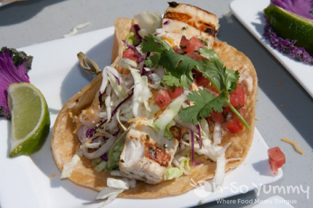 Tony Alvarez of The Fish Market - fish taco