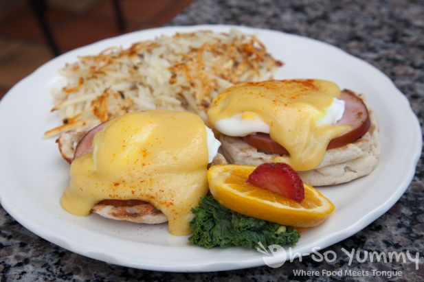 Richard Walker's Pancake House - Classic Eggs Benedict