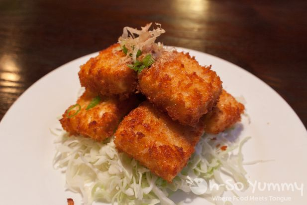 Crispy Tofu at Tofu Ka in San Diego, CA