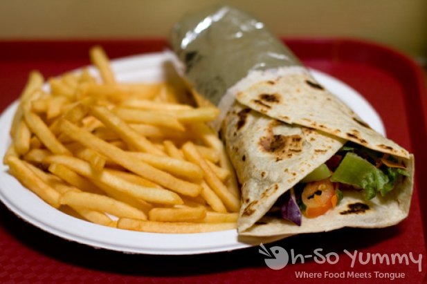 Lamb Doner with Fries