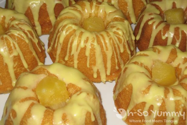 Pineapple Bundtlets