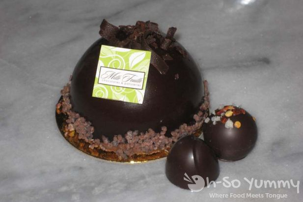 Black Forest Truffle and Chocolates