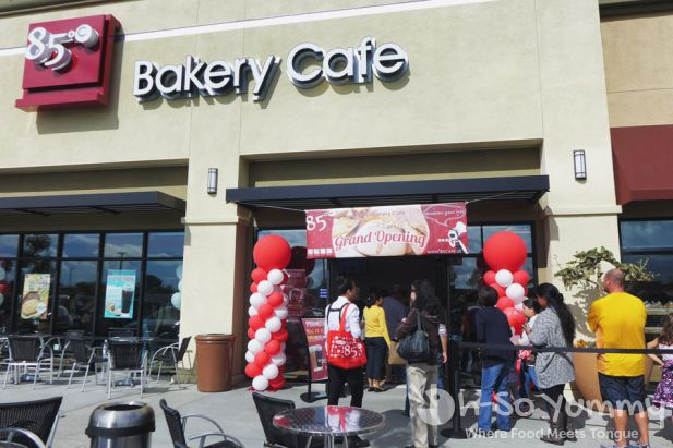 grand opening on 11/14/14 of 85C Bakery Cafe in San Diego