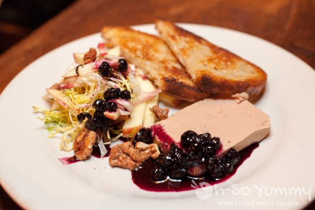 Brandied Foie Gras Pate at Bankers Hill Bar + Restaurant