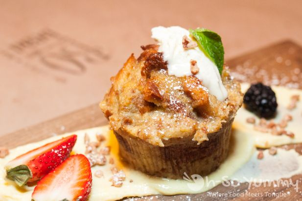 Bread Pudding at Bo-Beau Kitchen + Bar