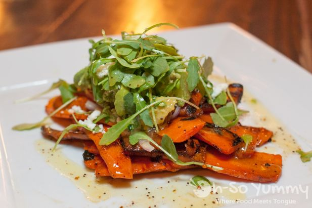 Burnt Carrots Salad at Farmer's Bottega