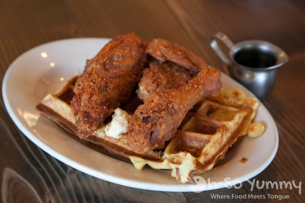 Fremont Diner - Chicken and Waffles