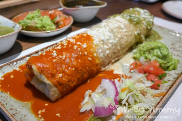 Chimichanga Banderas style at Hecho En Vegas (MGM Grand Las Vegas)