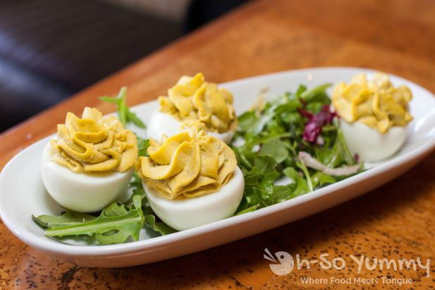 Deviled Eggs at Leroy's Kitchen and Lounge