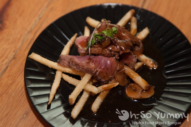 Filet Frites at OB Warehouse in San Diego, CA