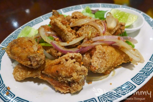 butter chicken wings at Pho Ban Mai
