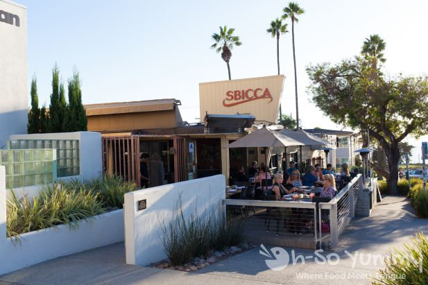 Sbicca restaurant in Del Mar