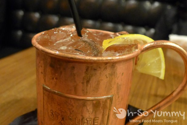 Kentucky Colonel Mule at Starlite in San Diego