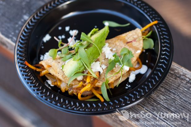 Bracero Cocina de Raiz at Taste of Little Italy 2015