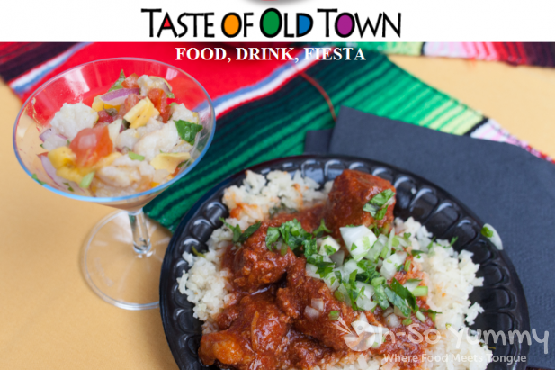 Taste of Old Town 2015 flyer by oh-so yummy